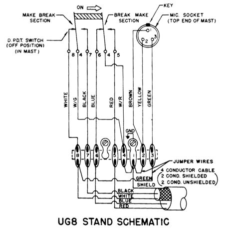 astatic d 104 microphone wiring diagram enthusiast wiring diagrams u2022 rh rasalibre co Astatic 636L Mic Wiring 4 Pin Cobra Astatic Mic Wiring